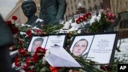 دو منسوب نظامی روسیه که در پیوند با سقوط جت جنگی سوخوی - ۲۴ کشته شدند.