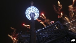 Нью-Йорк, Таймс-сквер, 31 декабря 2012г.