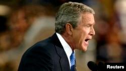 "Pada 20 September 2001 Presiden George W. Bush memulai ""War on Terror""."