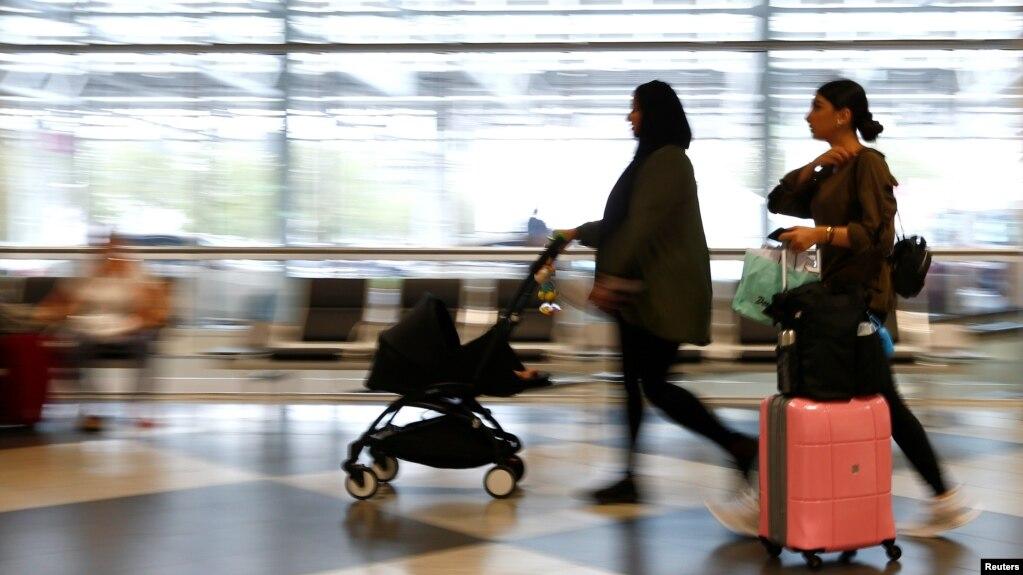 Tư liệu - Hành khách đến sân bay Munich, ở thành phố Munich, Đức, ngày 3 tháng 8, 2017.