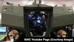 ACV 1.1 та AAV SU. Фото з YouTube сторінки компанії SAIC