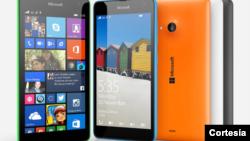 El nuevo Lumia 535 posee una pantalla de 5 pulgadas, y una cámara de 5 megapíxeles.