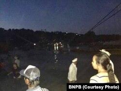 Jembatan Lembongan Bali roboh