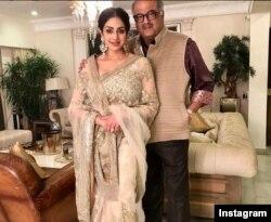سری دیوی و همسرش بونی کاپور