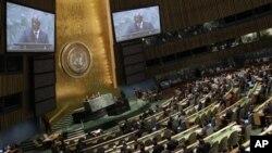 Sekretaris Jendral PBB Ban Ki-Moon mengatakan kepada wartawan, Suriah merupakan prioritas utama dalam pertemuan Majelis Umum tahun ini (foto: Dok).