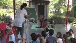 Makeshift Schools Help Mumbai Slum Children Beat the Odds
