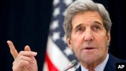 Menlu AS John Kerry berada di Arab Saudi untuk melakukan serangkaian pembicaraan (foto: dok).