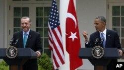 Реджеп Тайип Эрдоган и Барак Обама. Белый дом, Вашингтон. 16 мая 2013 г.