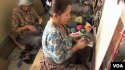 Tibetan refugees in Nepal.