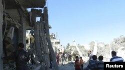 Los atentados y los combates se intensificaron el miércoles en Damasco, en barrios alauitas.