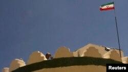 عکس آرشیوی از محل دیدبانی یکی از نیروهای مرزبانی ایران