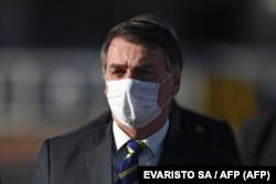 ဘရာဇီး သမၼတ Jair Bolsonaro