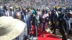 Zimbabwe President Rebukes Protesters At Heroes Commemoration