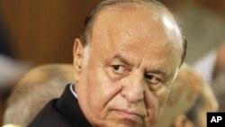 Shugaban Yemal Abed Rabbo Mansour Hadi