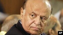 عکس آرشیوی از عبد ربه منصور هادی رئیس جمهوری یمن