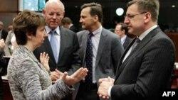 Evropski lderi na samitu u Briselu