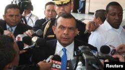 """En 2015 cuando su hijo fue acusado, el expresidente Porfirio Lobo dijo en una entrevista: """"Fabio ya no es un niño y debe responder por sus acciones."""