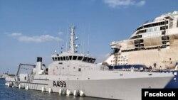Jirgin ruwan rundunar sojin Najeriya (Facebook/Nigerian Navy)