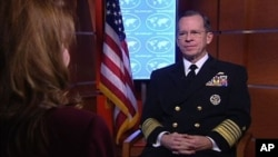 US Admiral Mike Mullen (file photo)