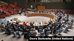 The U.N. Security Council votes unanimously on Tuesday, May 27, 2014, to extend the mandate of the U.N. Mission in South Sudan for six months and change its focus.