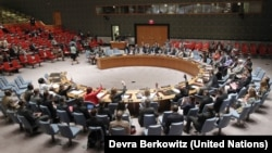 Phiên họp của Hội đồng Bảo an Liên hiệp quốc