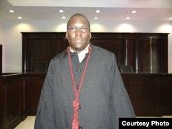 Walter Tondela, advogado, defensor direitos humanos - Angola
