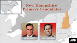 ԱՄՆ-ի Նյու Հեմփշիր նահանգում անցկացվող հանրապետական կուսակցության նախնական ընտրությոններին մասնակցող թեկնածուները