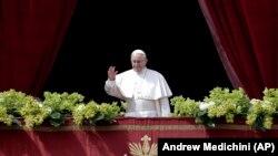Папа Римський Франциск, 1 квітня 2018 року