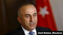메블루트 카부소글루 터키 외무장관. (자료사진)