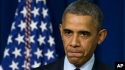 Presiden AS Barack Obama hari Kamis (26/12) menandatangani kesepakatan anggaran bipartisan Kongres AS (foto: dok).