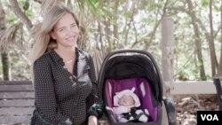 Ruskinja Ksenya Popova je među ženama koje su došle u Miami na Floridi kako bi se porodile
