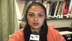 پاکستان مسلم لیگ (ق) کی رکن قومی اسمبلی ماروی میمن