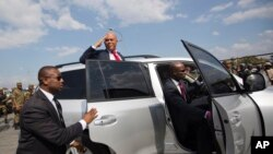 U.S. Supports Interim Government in Haiti
