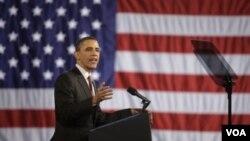 Presiden Obama: keringanan pajak bagi kaum kaya AS tidak merupakan pengorbanan bersama.