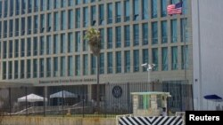 A view of the U.S. Embassy in Havana, Cuba on Sept.18, 2017.