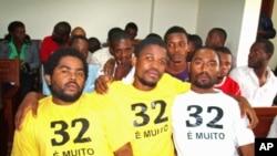 Manifestantes condenados
