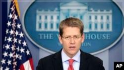 White House Press Secretary Jay Carney (file photo from Sept. 15, 2011)