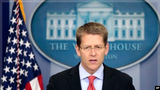 White House Press Secretary Jay Carney (file photo from Sept. 15, 2011)