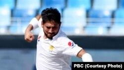 یاسر شاہ نے کھیل کے پہلے دن شاندار بالنگ کرتے ہوئے تین کھلاڑیوں کو آوٹ کیا