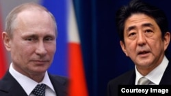 Putin and Shinzo