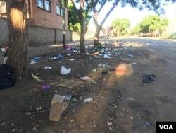 COVID-19 lockdown starts off in Zimbabwe. (VOA)