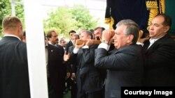 Prezident Islom Karimovning dafn marosimi, Samarqand, 3-sentabr, 2016