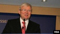 Cựu Thủ Tướng Úc Kevin Rudd.