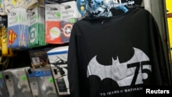 Tiendas de cómics están celebrando el 75 aniversario de la creación del hombre murciélago.