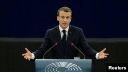 Perezida Emmanuel Macron w'Ubufaransa