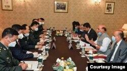 上週五,中印兩國國防部長在普京的調停下在莫斯科舉行會晤。