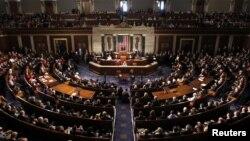 1月3日在国会山,美国众议院议长贝纳向第113届国会发表讲话