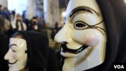 Anonymous publicó las direcciones de correo electrónico de los agentes que participaron en la llamada.