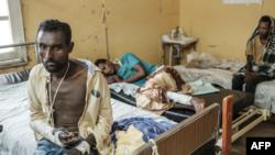 Namoota haleellaa Maaykaardraatti raawwatame irratti miidhamanii hoospitaala Gondar keessatti yaalamaa jiran, Sadaasa 20, 2020