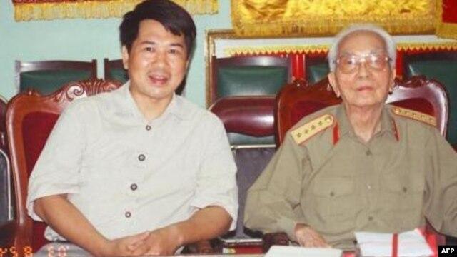 Tiến sĩ Cù Huy Hà Vũ và Đại tướng Võ Nguyên Giáp